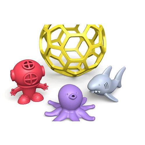 Begin Again Toys: Shark Tank Bathtime Ball