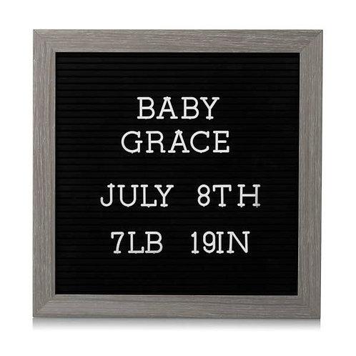 Letterboard Set - Dark Gray