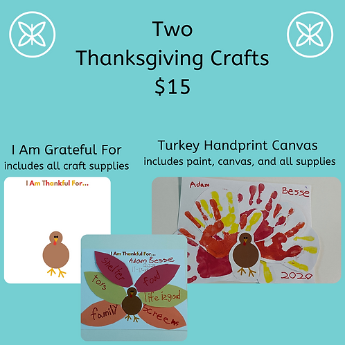 2 Thanksgiving Crafts