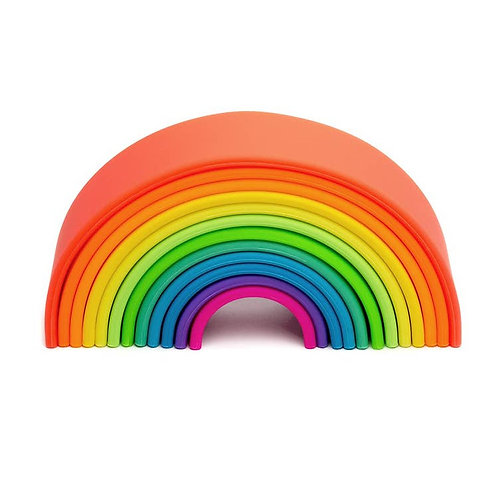 Silicone Rainbow Stacker (Neon colors)