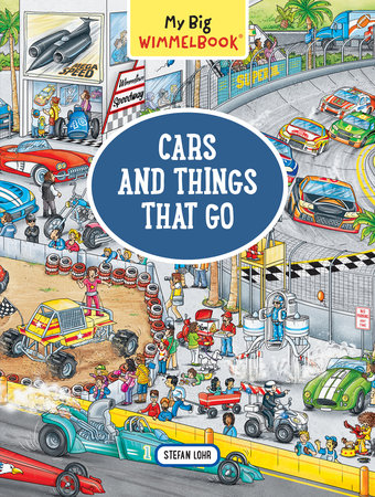 My Big Wimmelbook (Cars & Things That Go)