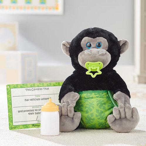 Melissa & Doug: Baby Gorilla Stuffed Animal