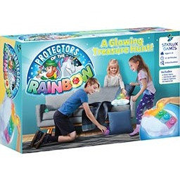 Protectors of the Rainbow: A Glowing Treasure Hunt!