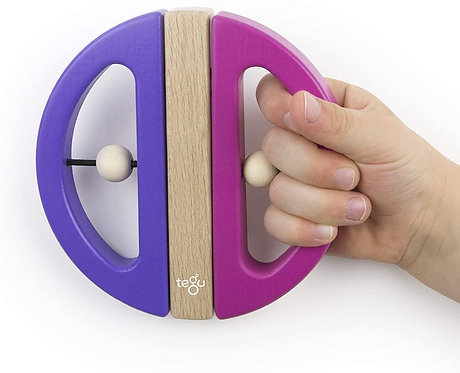 Tegu: Swivel Bug (Pink & Purple)