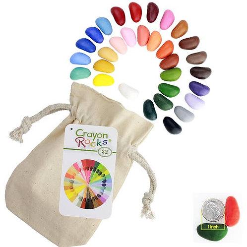 Rock Crayons - 32 ct