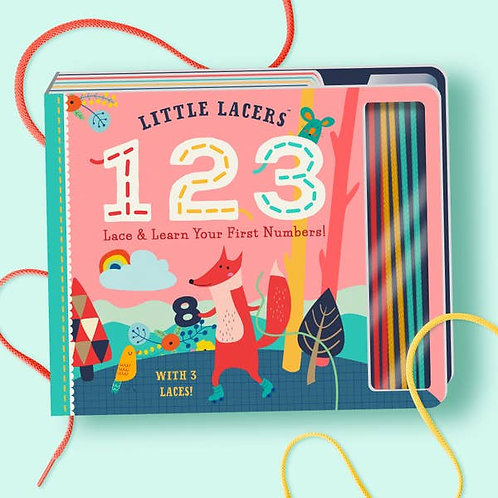 Little Lacers 1-2-3: Lace & LearnYour First Numbers