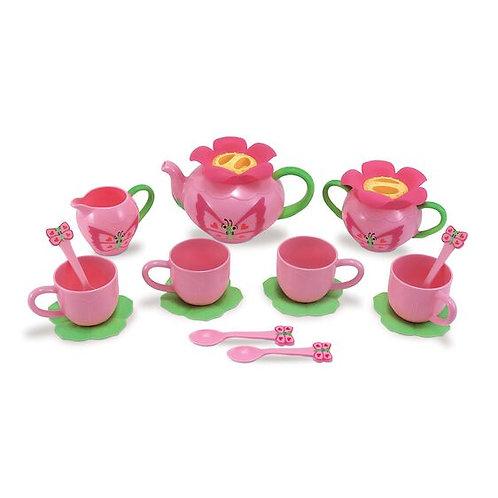 Melissa & Doug: Butterfly Pretend Play Tea Set