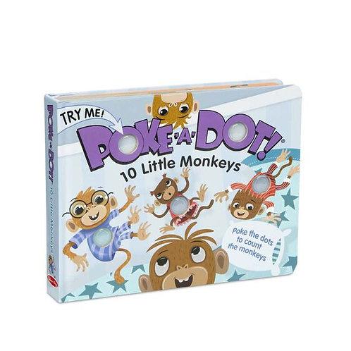 Melissa & Doug: Poke-A-Dot (10 Little Monkeys)