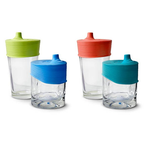 2pk Universal Silicone Sippy Top