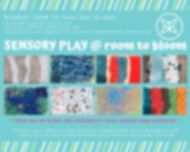 Sensory Play Sensory Bins