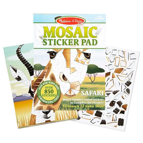 Melissa & Doug: Mosaic Sticker Pad - Safari