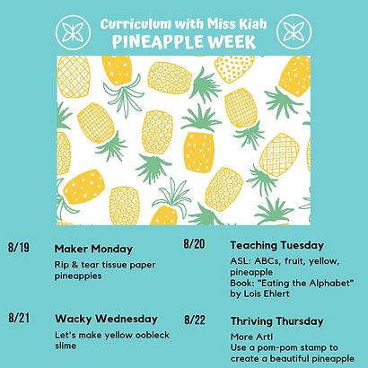 Pineapple Week