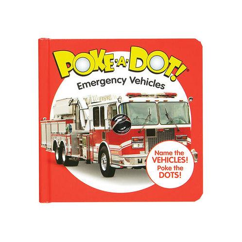 Melissa & Doug: Poke-A-Dot Emergency Vehicles