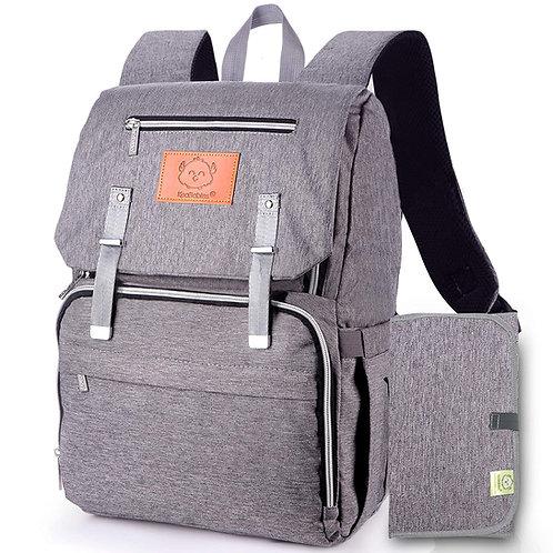 Diaper Bag Backpack - Classic Gray