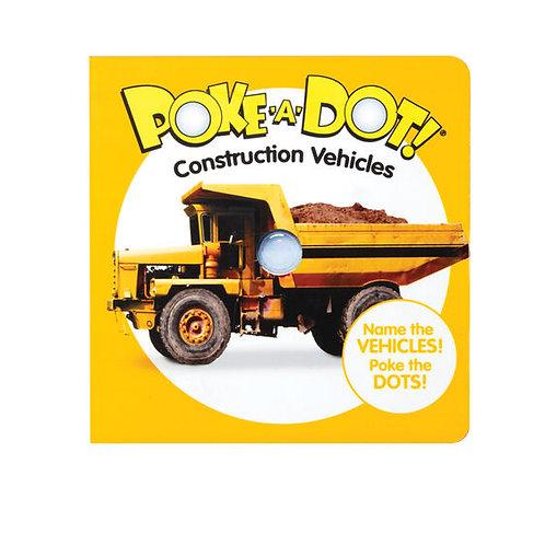 Melissa & Doug: Poke-A-Dot: Construction Vehicles