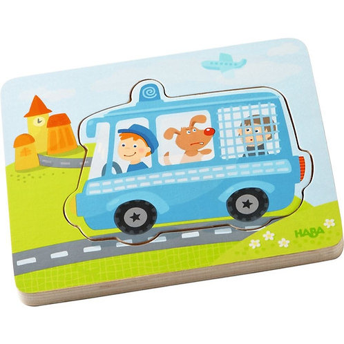 HABA Toys: Wooden Puzzle (Emergency Call)