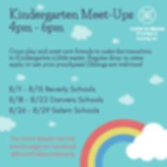 Kindergarten Meet-Ups
