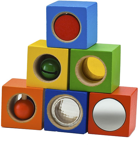 HABA Toys: Stack & Learn Blocks