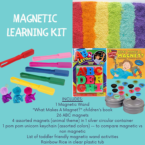 Magnetic Learning Activity Kit