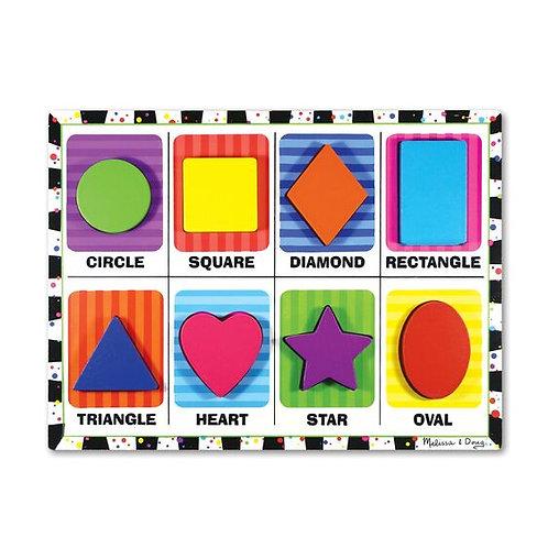 Melissa & Doug: Chunky Puzzle (Shapes)
