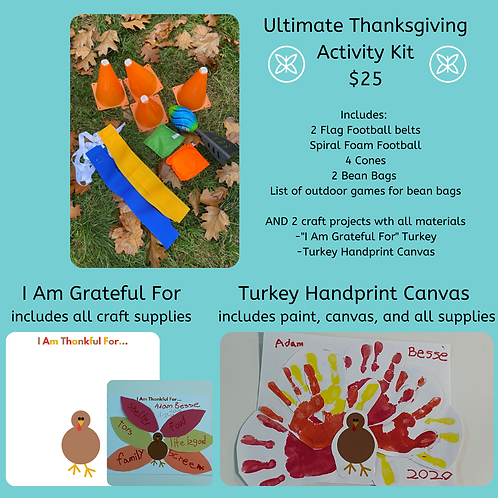 Ultimate Thanksgiving Activity Kit