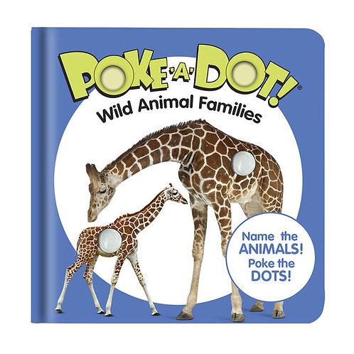 Melissa & Doug: Poke-a-Dot - Wild Animal Families