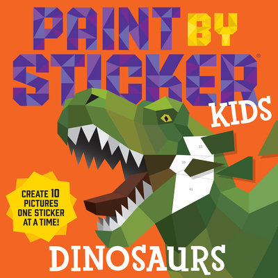 Paint by Sticker Kids (Dinosaurs)