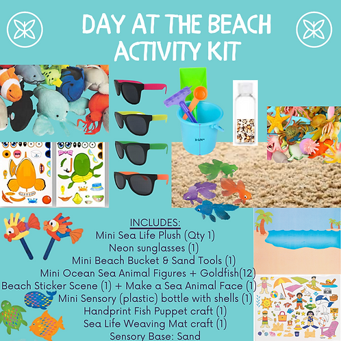Day at the Beach Activity Kit