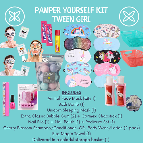 Tween Pamper Yourself Activity Kit