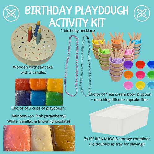 Birthday Playdough Activity Kit