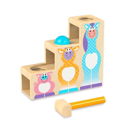 Melissa & Doug: First Play Pound & Roll Stairs