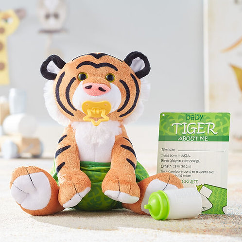 Melissa & Doug: Baby Tiger Stuffed Animal