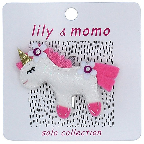 Come Fly With Me Unicorn - 1 Hair Clip