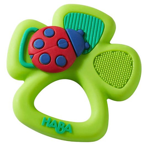 HABA Toys: Shamrock Silicone Teether (Made in Germany)