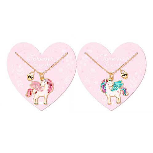 Best Friends Forever Necklaces (Unicorn Sisters)