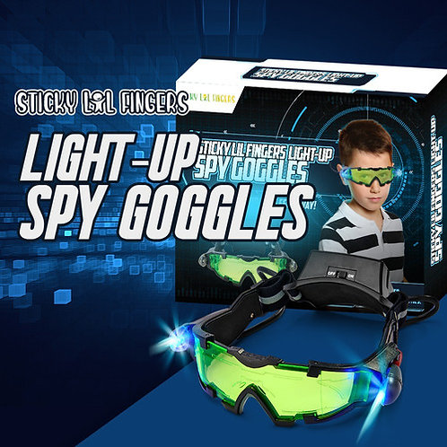 Light Up Spy Goggles for Kids