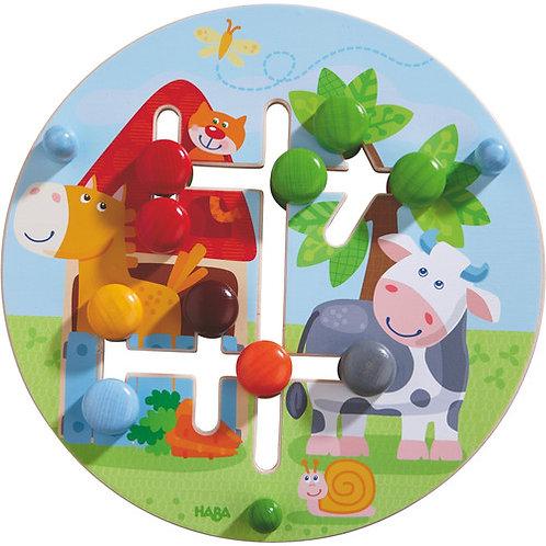 HABA Toys: Motor Skills Board (On The Farm)