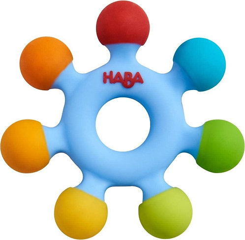 HABA: Clutching Toy Color Wheel - Silicone Teether