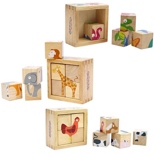 Begin Again Toys: Buddy Blocks Puzzles (3 Choices)