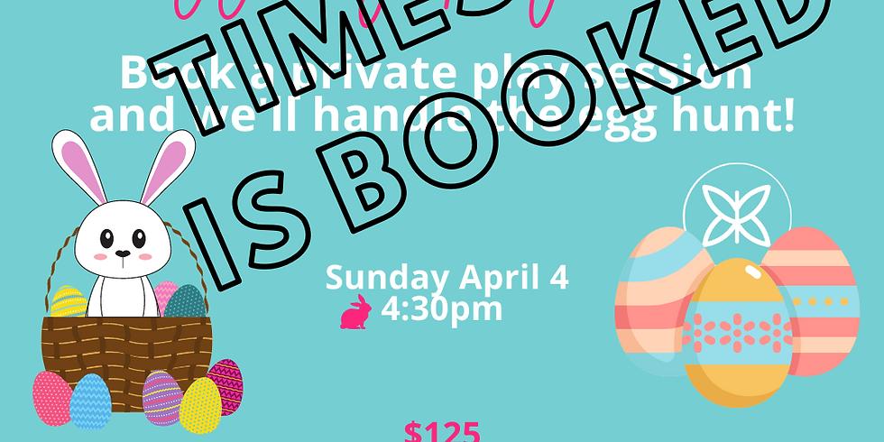 Egg My Playdate! Sunday 4/4 4:30pm