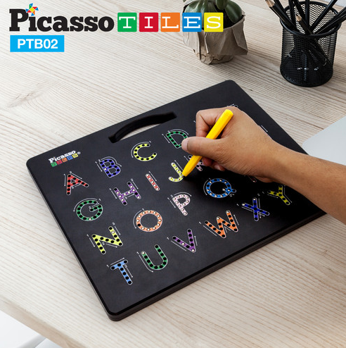 Magnetic Drawing Board - 2 sided Alphabet & Numbers