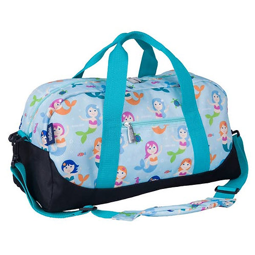 Overnight Travel Duffel Bag - Mermaids