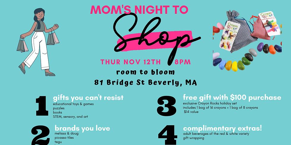 Mom's Night to Shop