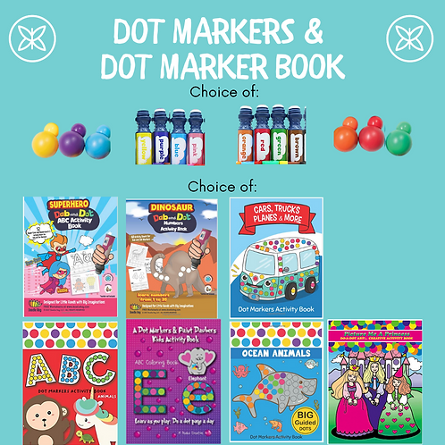 Dot Markers & Dot Marker Coloring Book