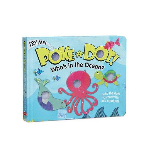 Melissa & Doug: Poke-a-Dot (Who's In The Ocean)