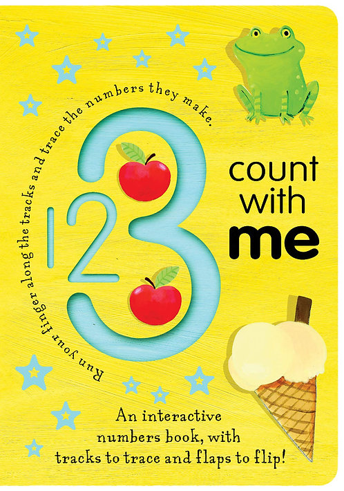 123 Count with Me (Trace-And-Flip Fun!) by Tiger Tales