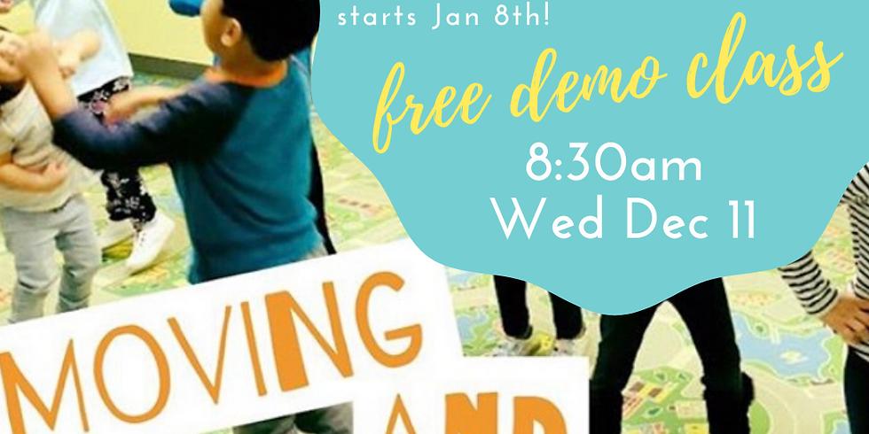 Mini Movers FREE Demo Class