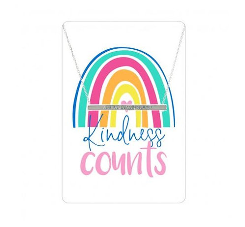 Necklace Card (Kindness Counts)