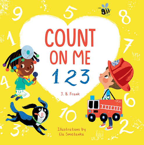 Count On Me 123 by J. B. Frank