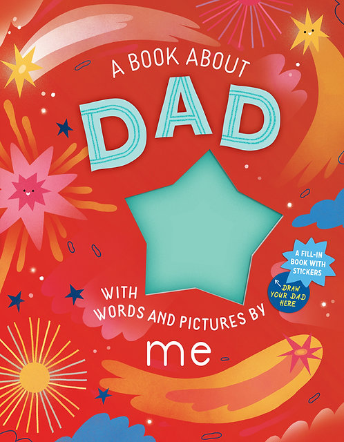 A Book About Dad With Words & Pictures By Me